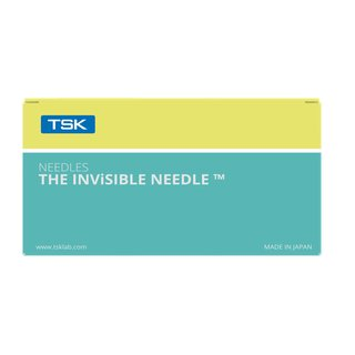 TSK STERiJECT Nadel - The Invisible - LDS 02009x9mm (3/8) Inch
